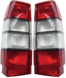 Volvo-745-945-Röd-Vita-Baklampor